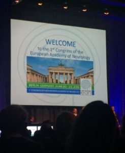 EFNA actively participates in first Congress of European Academy of Neurology